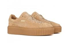 Кроссовки Puma Rihanna Suede Creeper Wheat