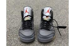 Кроссовки Jordan 5 Retro Off-White Black