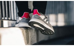 Кроссовки Adidas ZX 500 RM Grey Red