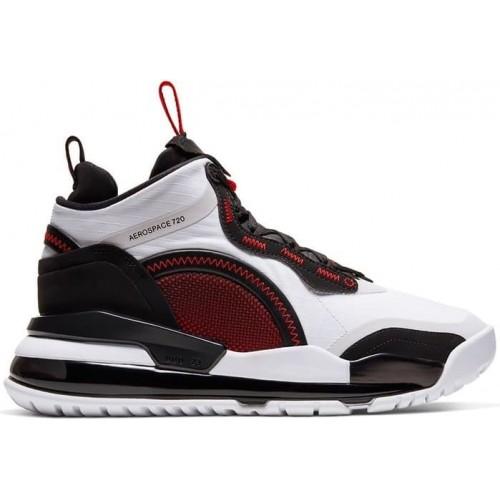 Кросівки Jordan Aerospace 720 White Gym Red Black