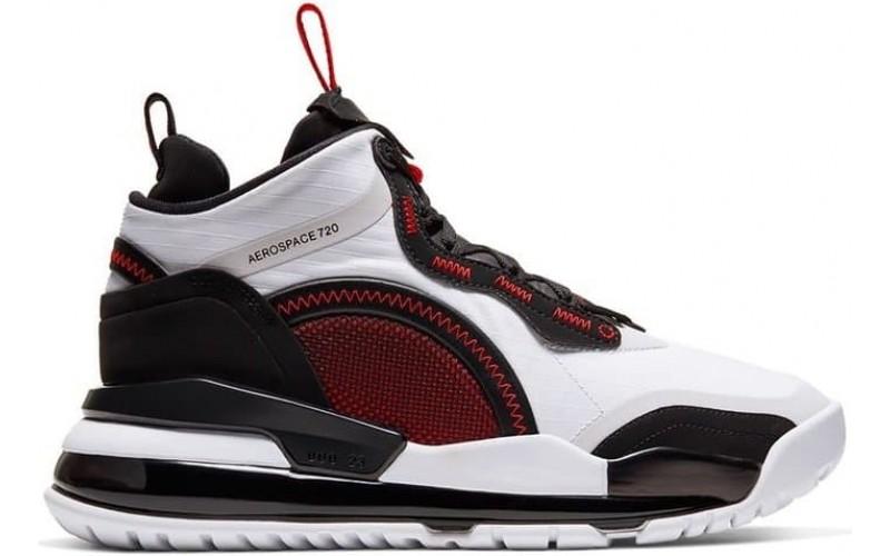 Кроссовки Jordan Aerospace 720 White Gym Red Black