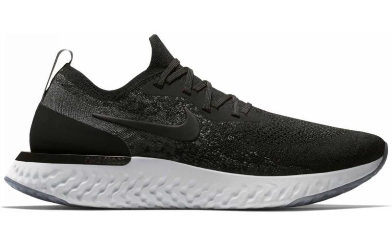 Кроссовки Nike Epic React Flyknit Black White