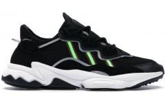 Кроссовки Adidas Ozweego Black Solar Green