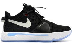 Кроссовки Nike PG4 Black/White-Smoke Grey
