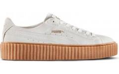 Кроссовки Puma Rihanna Suede Creeper White Gum