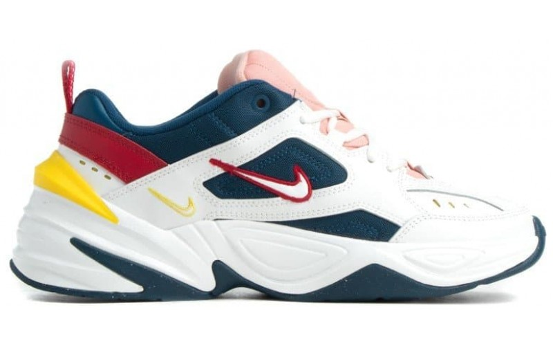 Кроссовки Nike M2K Tekno Blue Force/Summit White-Chrome Yellow