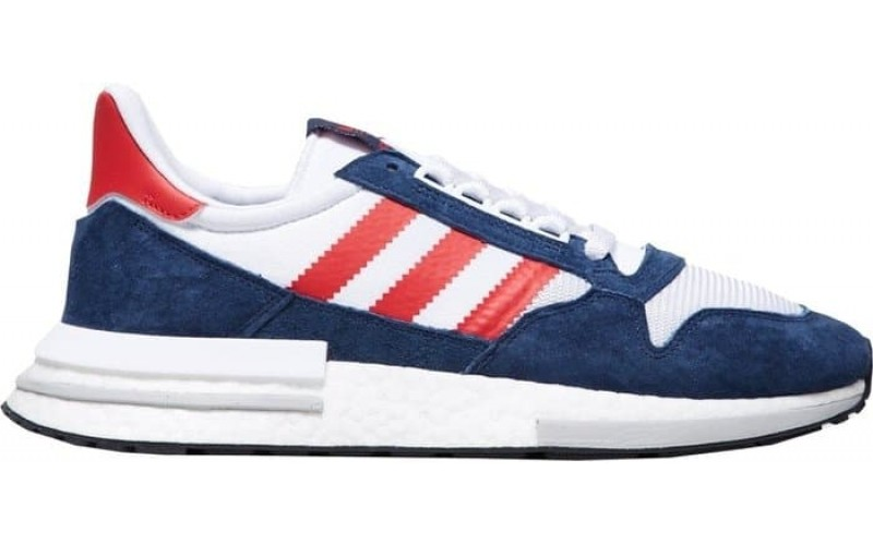 Кроссовки Adidas ZX 500 RM Navy Red White