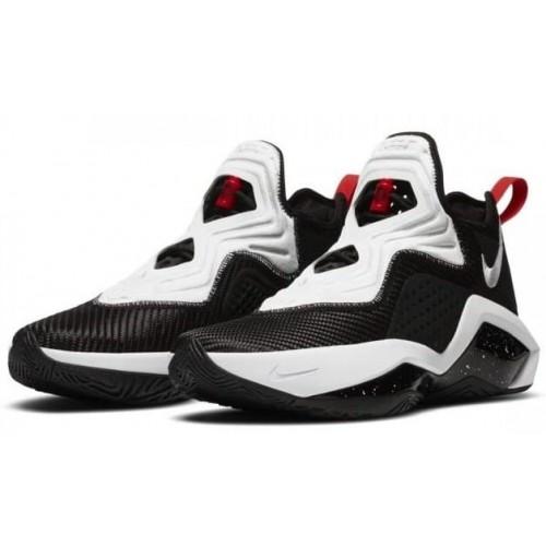 Кросівки Nike LeBron Soldier 14 Black White Red
