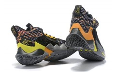 Кроссовки Jordan Why Not Zer0.2 Wolf Grey/Orange-Yellow