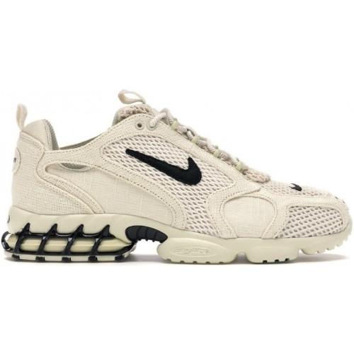 Кросівки Nike Air Zoom Spiridon Cage 2 Stussy Fossil