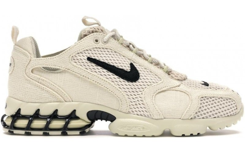 Кроссовки Nike Air Zoom Spiridon Cage 2 Stussy Fossil