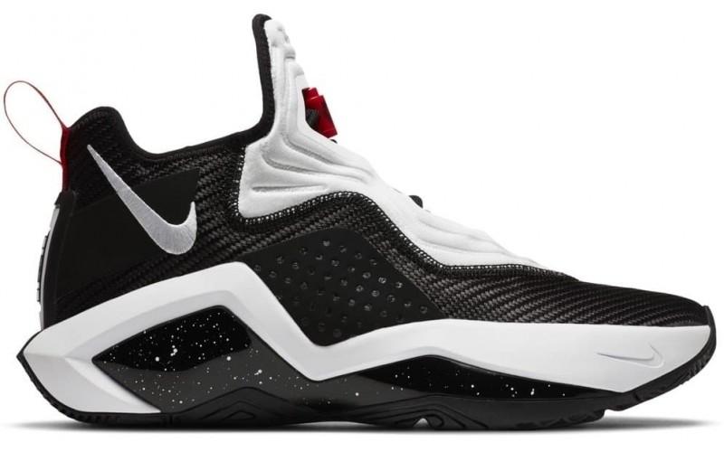 Кроссовки Nike LeBron Soldier 14 Black White Red