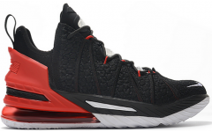 "Мужские кроссовки Nike LeBron 18 ""Black Red White"""