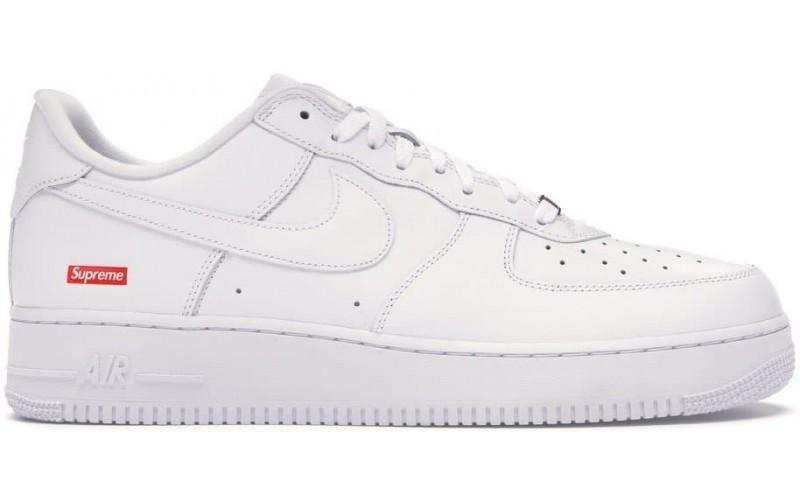 Кроссовки Nike Air Force 1 Low Supreme White