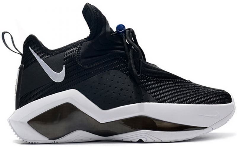 "Мужские кроссовки Nike LeBron Soldier 14 ""Black White"""