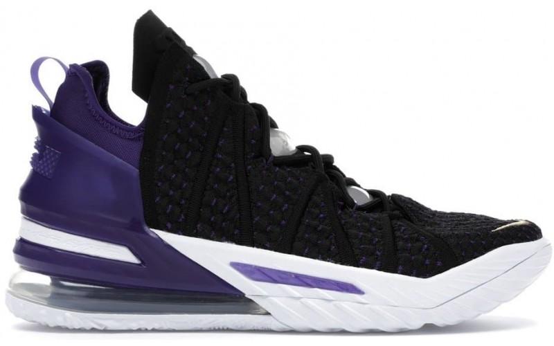 Кроссовки Nike LeBron 18 Lakers