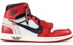 Мужские кроссовки Off-White x Jordan 1 Retro