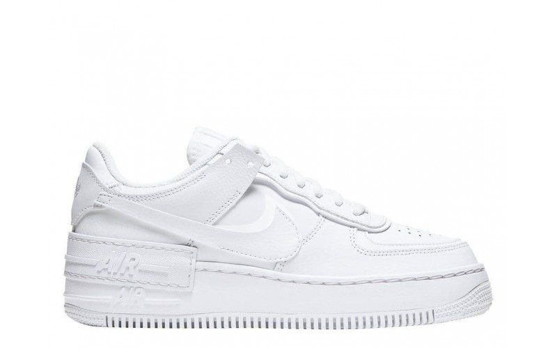 Женские кроссовки Nike Air Force 1 Shadow Triple White CI0919-100