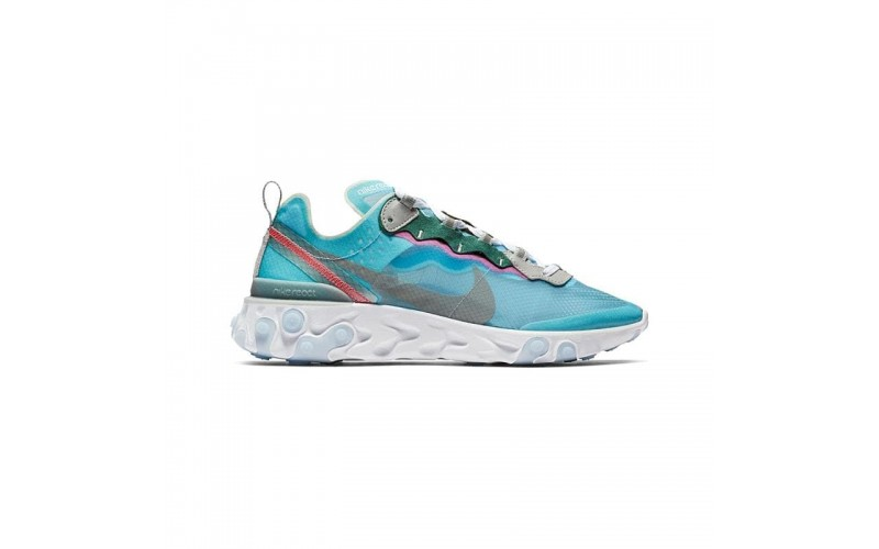 Женские кроссовки Nike React Element 87 Royal Tint/Black-Wolf Grey AQ1090-400