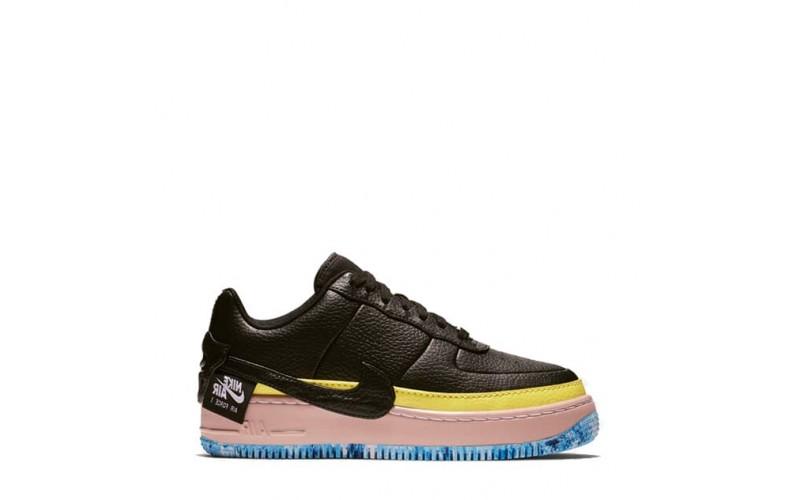Женские кроссовки Nike Air Force 1 Jester XX Black Sonic/Yellow Arctic Orange AT2497-001