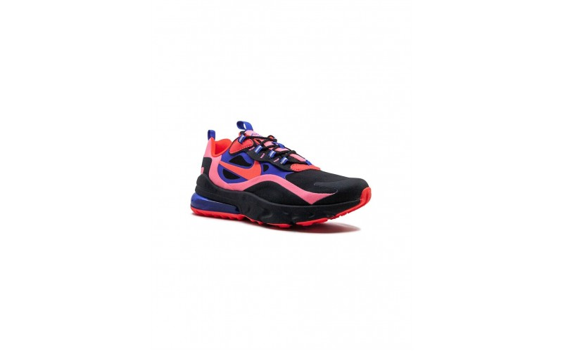 Женские кроссовки Nike Air Max 270 React Black/Red/Blue CT1579-001