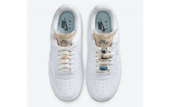 Женские кроссовки Nike Air Force 1 Low 07 LX Bling White Onyx CZ8101-100
