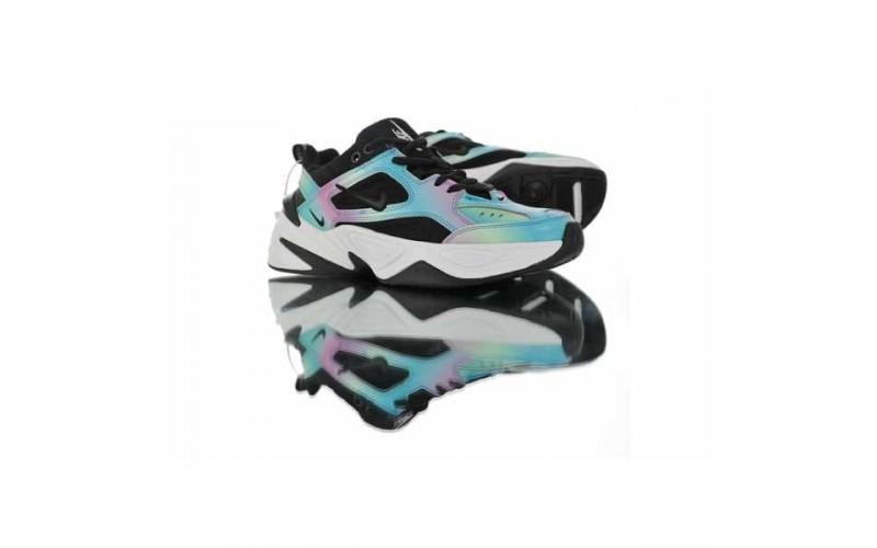 Женские кроссовки Nike M2K Tekno Rainbow Black AQ4789-105