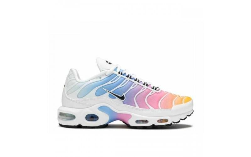 Женские кроссовки Nike Air Max Plus White/Multicolor 605112-115