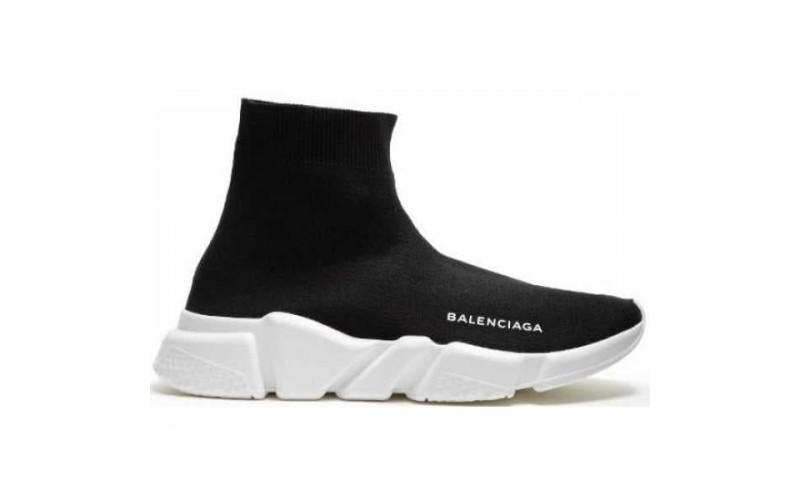 Кроссовки Balenciaga Speed Trainer Black White W05G9