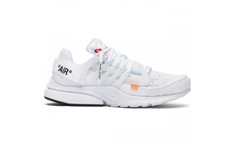 Кроссовки Off-White x Nike Air Presto White AA3830-100