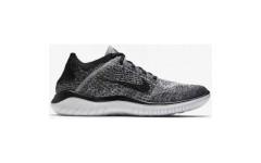 Кроссовки Nike Free Run Flyknit 2018 Grey Black