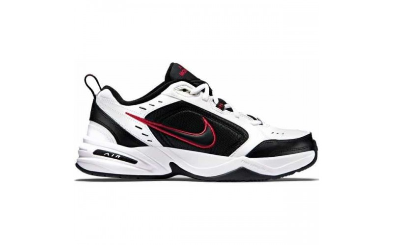 Мужские кроссовки Nike Air Monarch IV White Black 415455-101