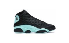 Кроссовки Jordan 13 Retro Black Island Green 414571-030