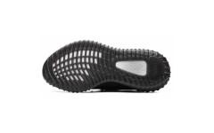 """Мужские кроссовки Adidas Yeezy 350 v2 """"Core Black White"""" BY1604"""