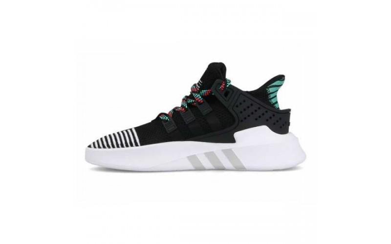 Мужские кроссовки Adidas EQT Basketball Adv Core Black Sub Green CQ2993