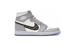 Мужские кроссовки Jordan 1 Retro High Dior CN8607-002