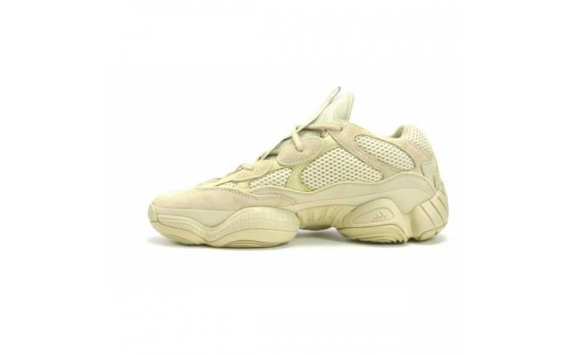 Мужские кроссовки Adidas Yeezy 500 Boost Super Moon Yellow DB2966