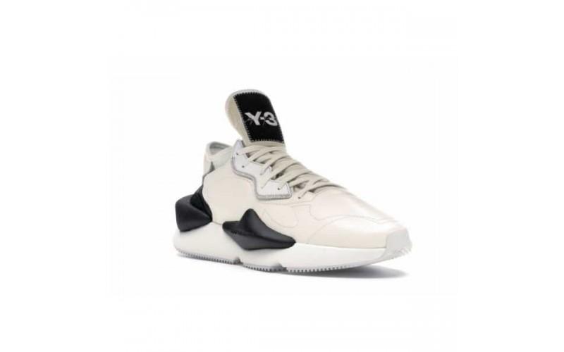 Мужские кроссовки Adidas Y-3 Kaiwa White Black BC0907