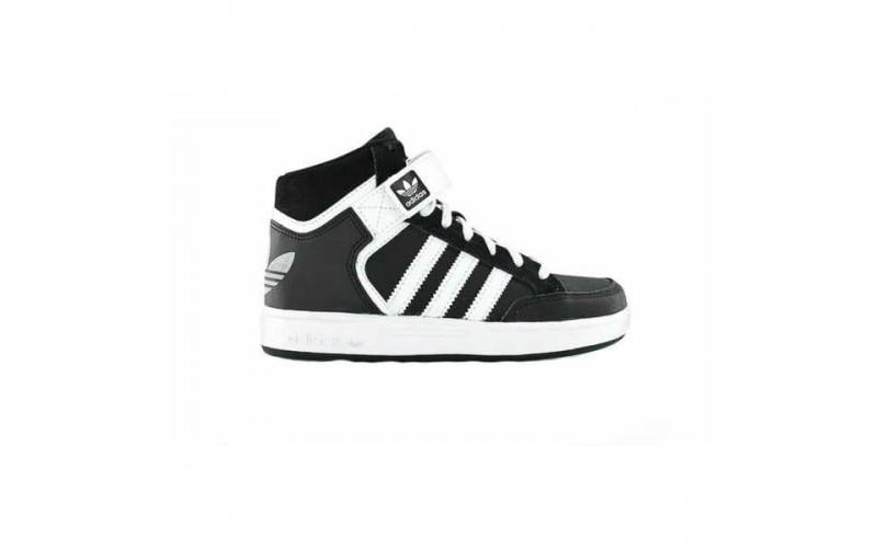 Мужские кроссовки Adidas Varial Mid Black/White C75653