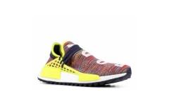 Мужские кроссовки Adidas Human Race NMD Pharrell MultiColor Noble Ink Yellow/White AC7360