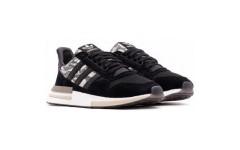 Мужские кроссовки Adidas ZX 500 RM Grey Black BD7924
