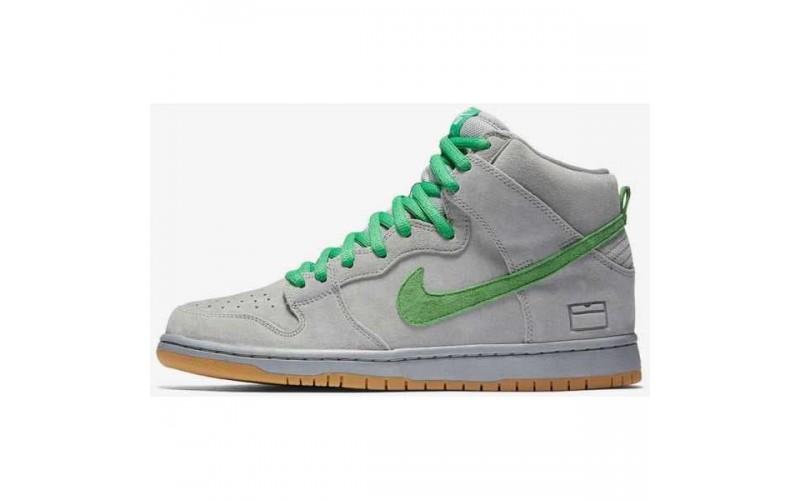 Кроссовки Nike SB Dunk High Silver Box 313171-039