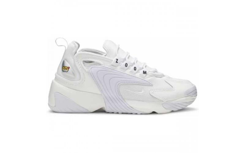 Женские кроссовки Zoom 2K White Silver AO0354 101