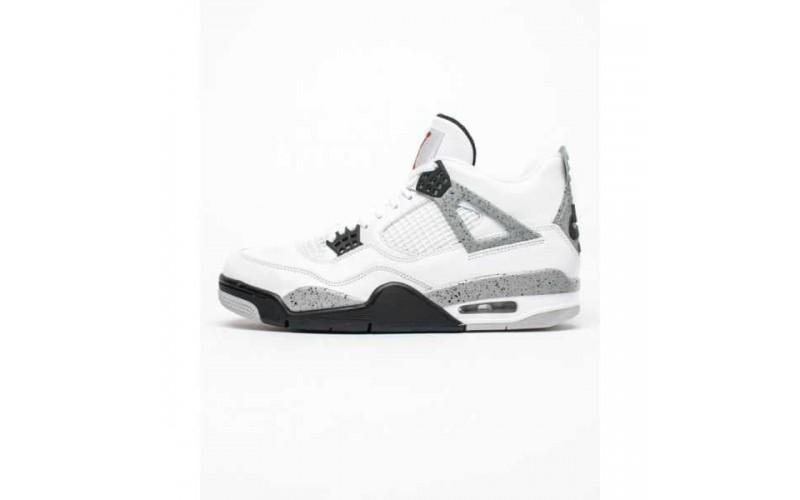 Кроссовки Jordan 4 Retro White Cement (2016) - 840606-192