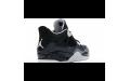 Чоловічі кросівки Jordan 4 Retro Fear Pack black/white-cool grey-pure platinum 626969-030