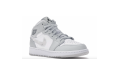 Кроссовки Jordan 1 Mid Grey Camo (GS) white/photon dust-grey-fog