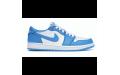 Женские кроссовки Air Jordan 1 Low Blue/White CJ7891-401