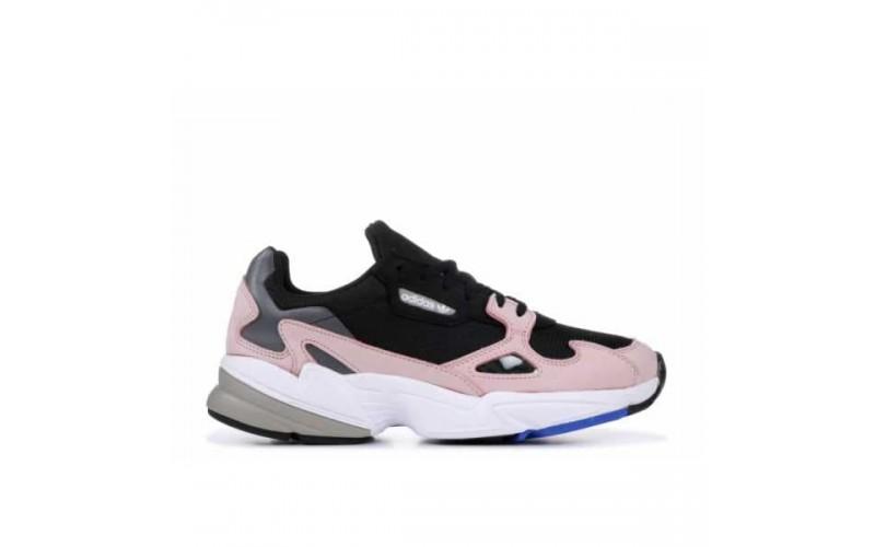 Женские кроссовки Adidas Falcon Core Black Light Pink B28126
