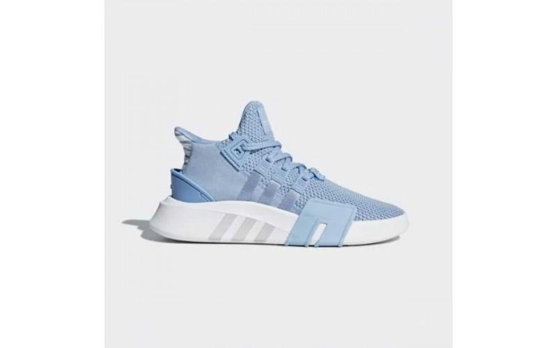 Женские кроссовки Adidas EQT Bask ADV Ash Blue/White AC7353