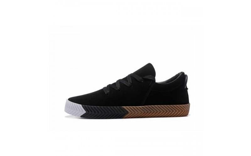 Женские кроссовки Adidas Originals Alexander Wang AW Low Skate Black/Gum/White BY1684
